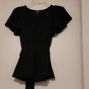 Kenneth cole black blouse